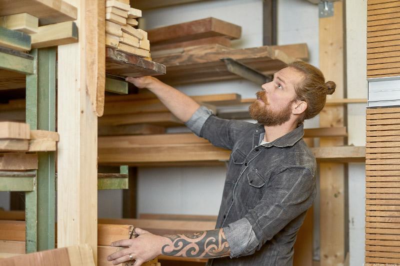 Tischlerei-Trede-Holz-Auswahl
