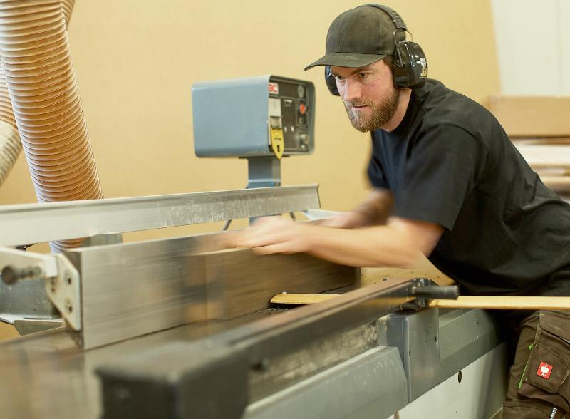 Tischlerei-Trede-Schleifen-Maschine