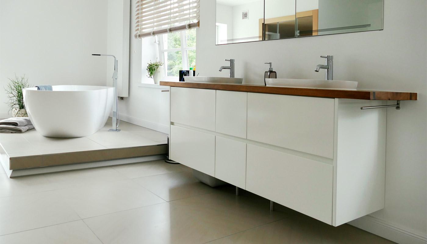 BADEZIMMER - Tischlerei Trede – ästhetische & funktionale Möbel aus ...