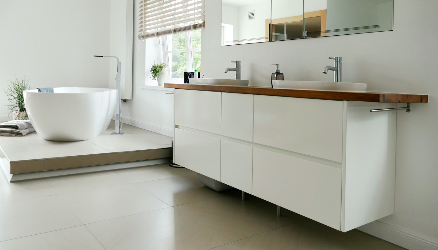 BADEZIMMER - Tischlerei Trede – ästhetische & funktionale Möbel